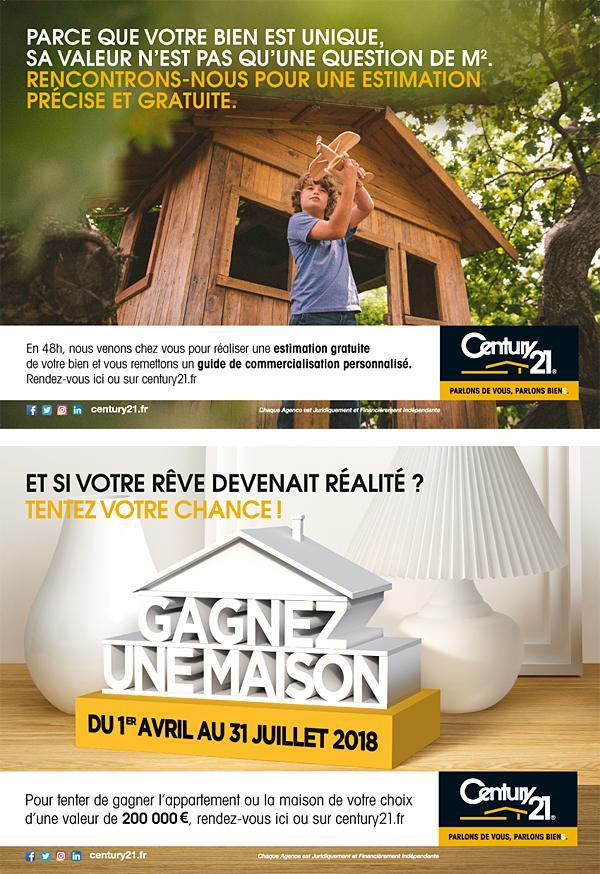 gagner une maison et c 39 est parti century 21 immobili re de l 39 ozon agence immobili re corbas. Black Bedroom Furniture Sets. Home Design Ideas